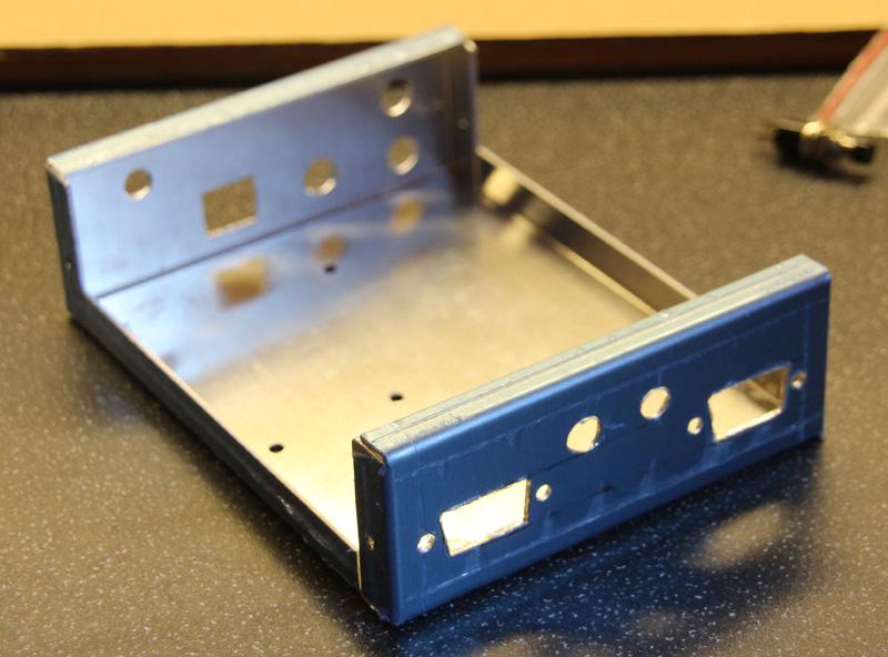 Prepared aluminium chassis