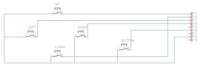 D-Pad circuit