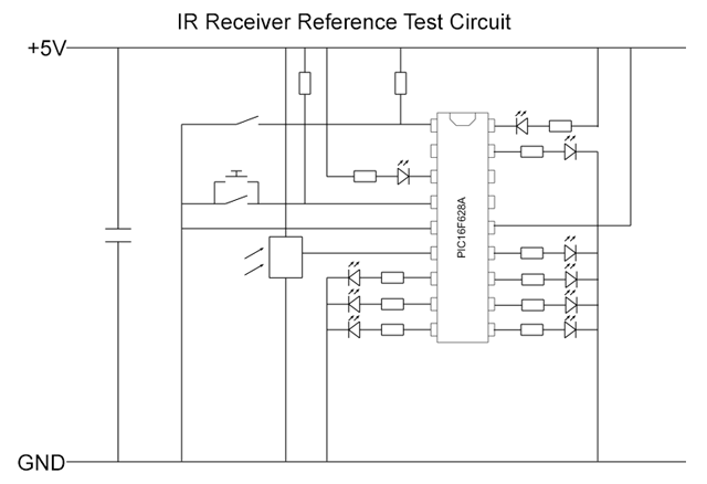 IR Receiver Test Circuit